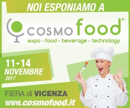 eureka partecipa a cosmofood a Vicenza